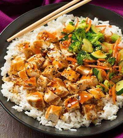 Receita de frango ao molho teriyaki