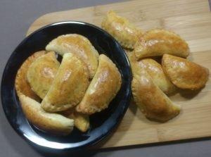 Receita de pastel de forno com recheio de frango