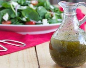 Receita de vinagrete com óleo de linhaça