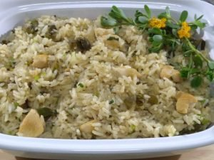 Arroz com beldroega
