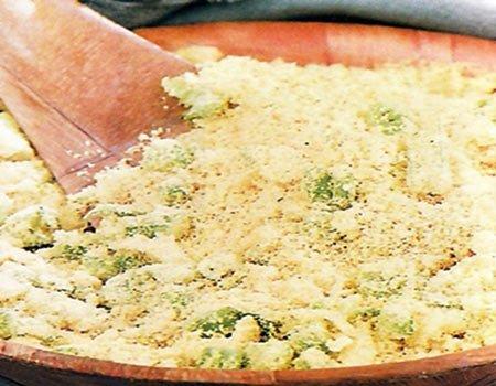 Receita de farofa com erva-doce