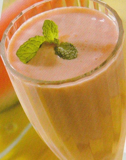 Receita de vitamina de melancia