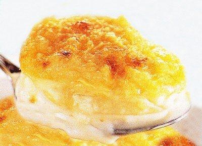 Receita de batata gratinada