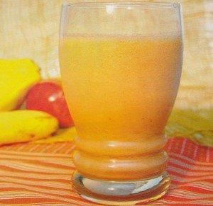 Receita de mix de fruta e guaraná
