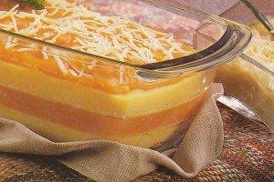 Receita de polenta com abóbora