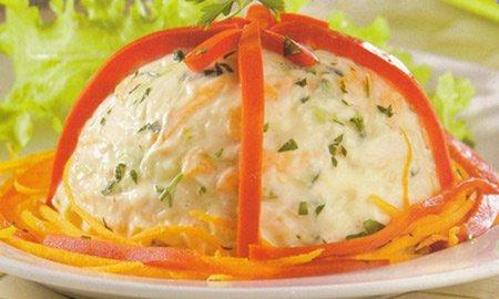 Receita de salada de frango e pepino