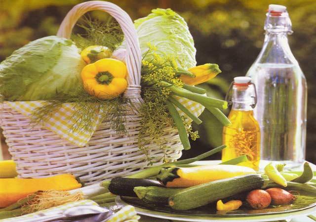 congelamento e descongelamento de verduras e legumes