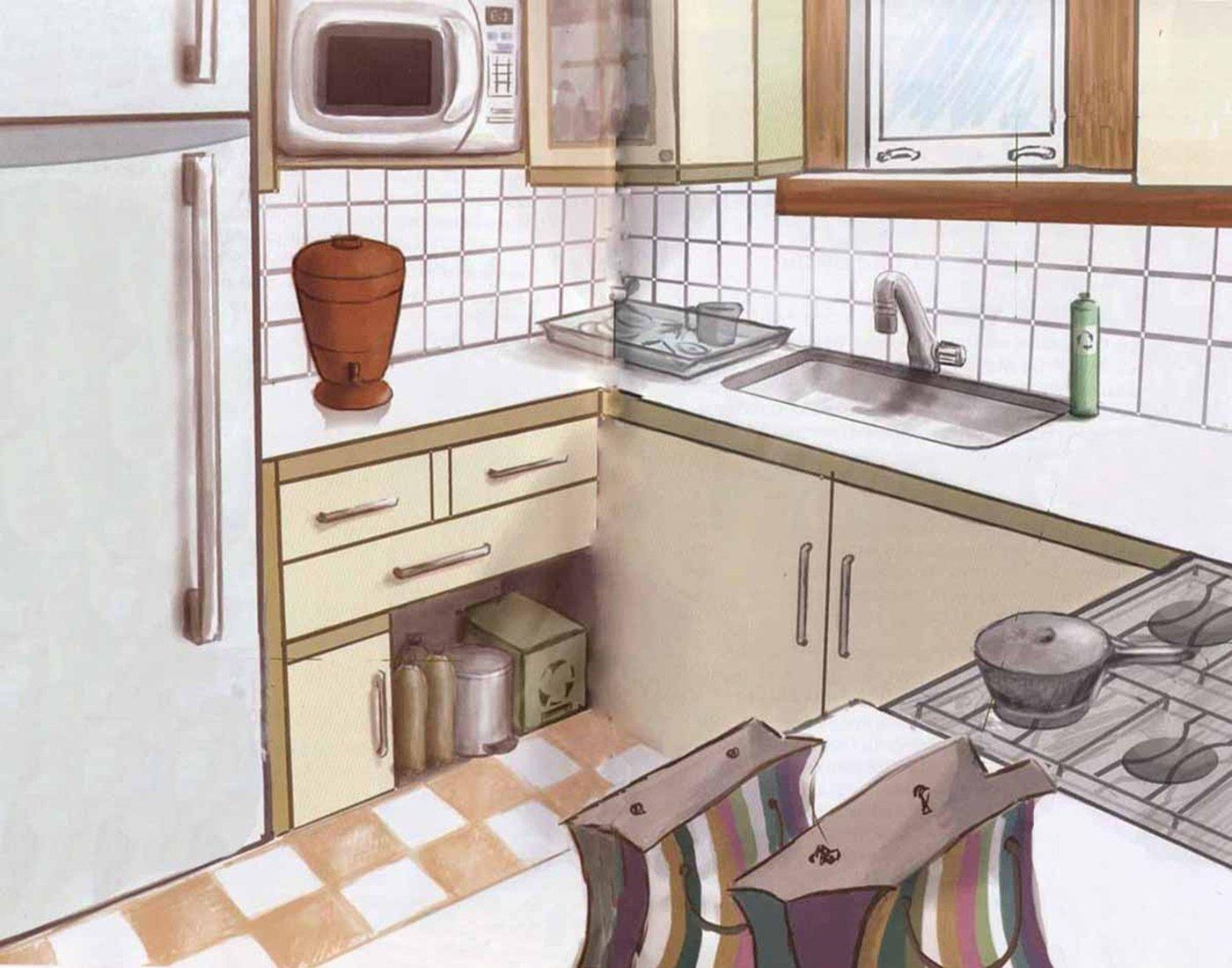 Como manter a cozinha sempre em ordem