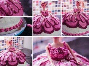 Como fazer um bolo Barbie