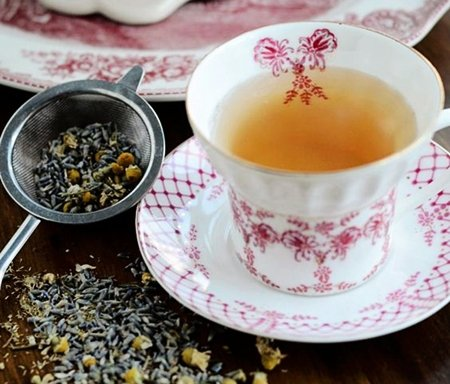 Receita de chá de camomila