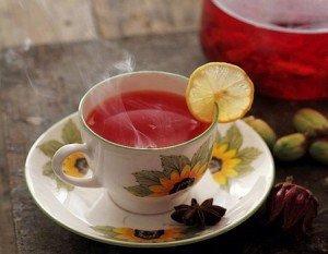 Receita de chá de hibisco