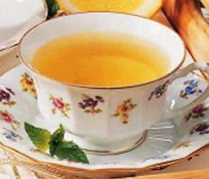 Receita de chá de hortelã