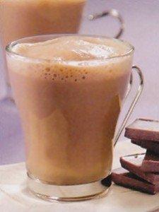 Receita de chocolate quente com conhaque