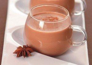 Receita de chocolate quente com especiarias