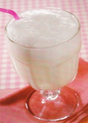 Receita de frapê de coco