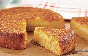 Receita de bolo de milho cremoso