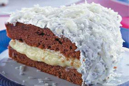 Receita de bolo gelado de coco e abacaxi