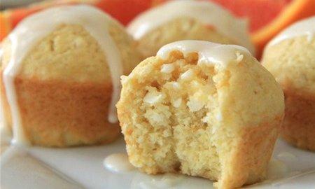 Receita de muffins de laranja