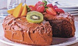 Receita de bolo cremoso gelado