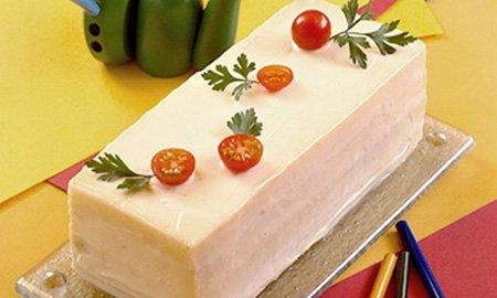Receita de bolo de pão de forma