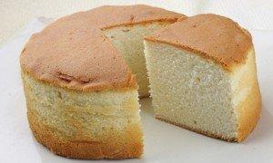Receita de bolo simples da vovó