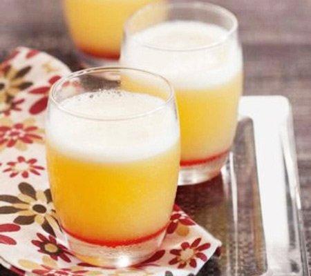 Receita de refresco de abacaxi com laranja