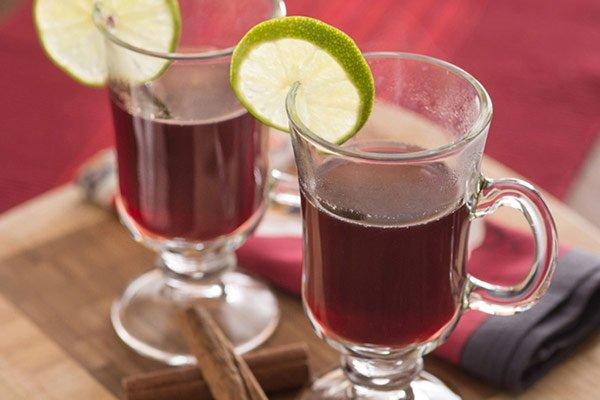 Receita de vinho quente