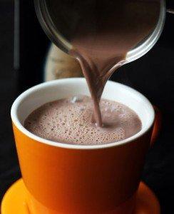 Receita de chocolate quente com vinho tinto