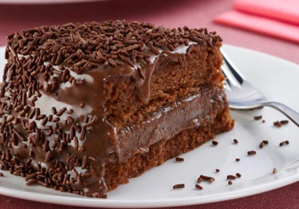 Receita de bolo brigadeiro