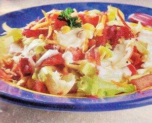 Receita de salada árabe