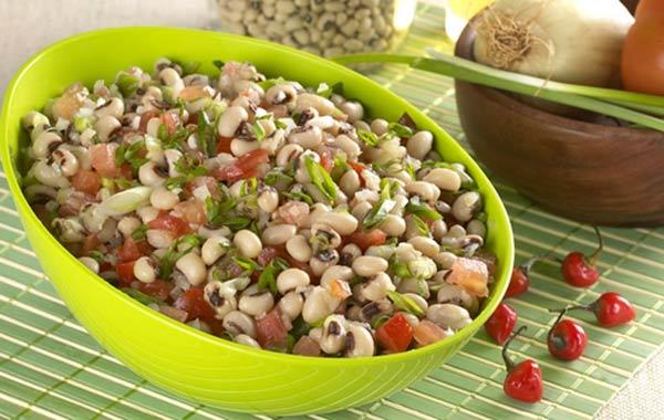 Receita de salada de feijão fradinho