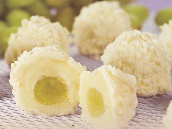 Receita de bombom tentação de uva