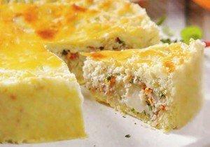 Receita de torta de palmito e atum