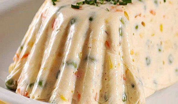 Receita de terrine de atum e legumes