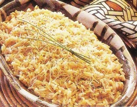 Risoto de queijo