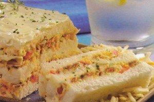 Receita de sanduíche gelado