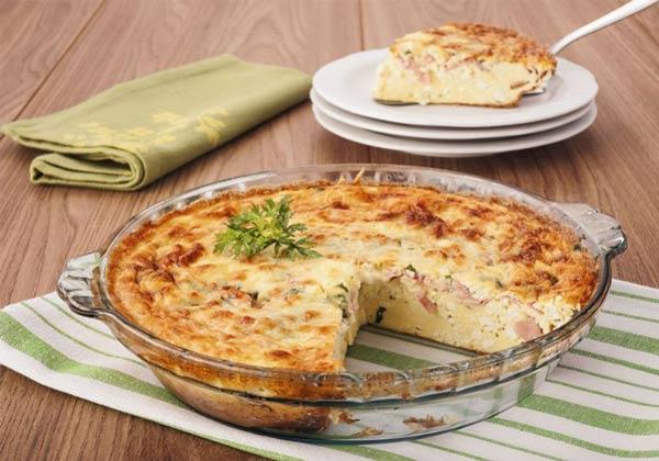 Receita de omelete ao forno