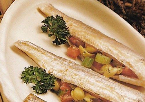 Receita de pescada recheada