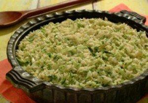 Receita de risoto de abobrinha