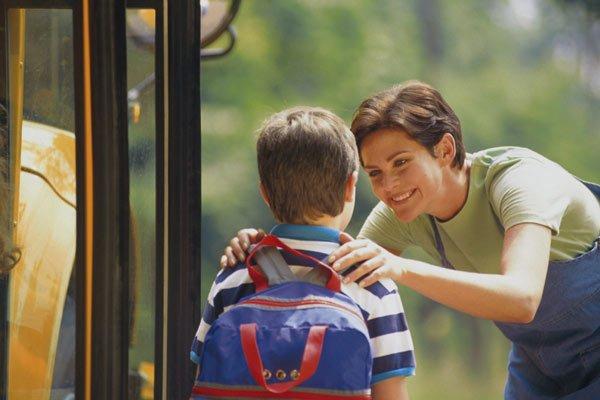 Volta às aulas e adaptação da criança que começa na escola