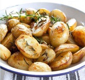 Receita de batata ao forno com ervas