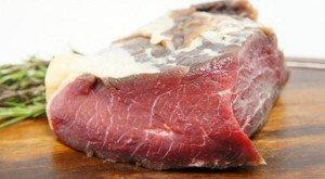 Como dessalgar carne seca