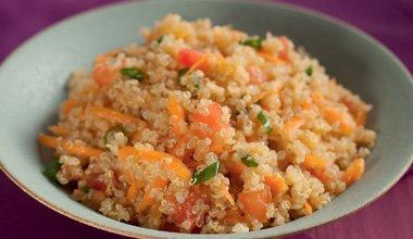 Receita de salada de quinua