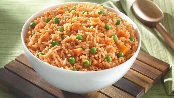 Receita de arroz mexicano