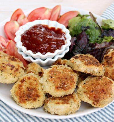 Nuggets de couve-flor