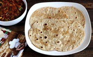 Chapati - Pão indiano