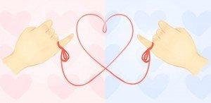 A lenda japonesa do fio vermelho