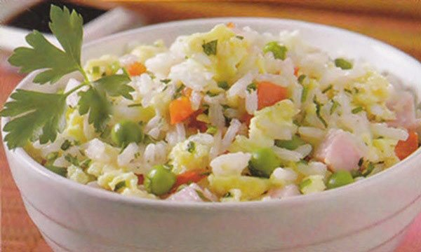Receita de arroz oriental