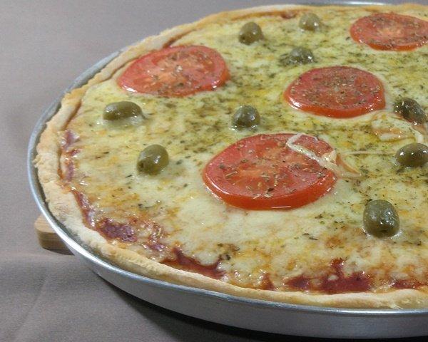 Receita de massa de pizza com fermento em pó