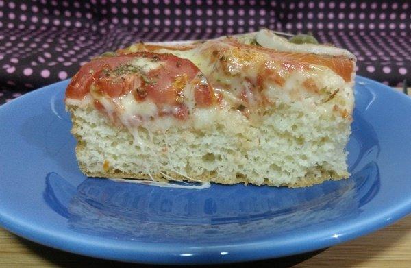 Torta salgada com fermento biológico